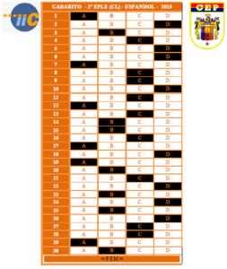00. GABARITO-EPLE - CL - 2º SEM - 2015