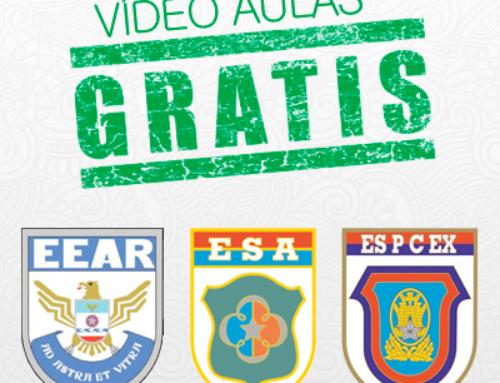 AULAS GRÁTIS – EEAr / ESA / ESPCEX