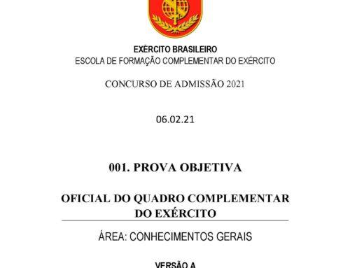 1º Simulado 2021 – Gabarito – EsFCEx