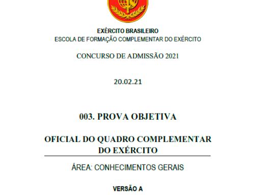 4º Simulado 2021 – Gabarito – EsFCEx