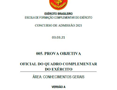 5º Simulado 2021 – Gabarito – EsFCEx