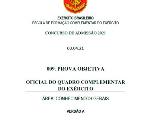 9º Simulado 2021 – Gabarito – EsFCEx
