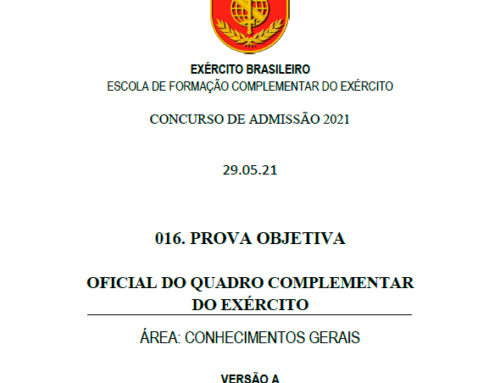 17º Simulado 2021 – Gabarito – EsFCEx