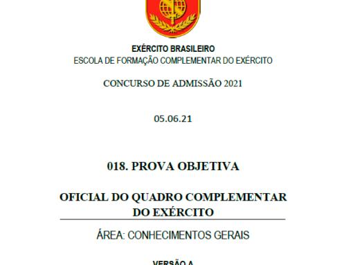 18º Simulado 2021 – Gabarito – EsFCEx