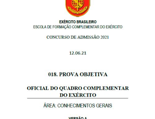19º Simulado 2021 – Gabarito – EsFCEx