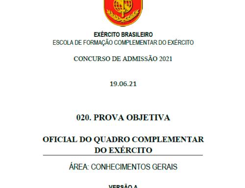 20º Simulado 2021 – Gabarito – EsFCEx